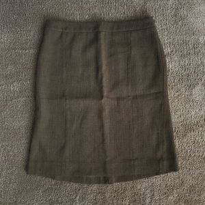 A LOFT business skirt